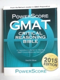 Power Score GMAT critical reasoning bible
